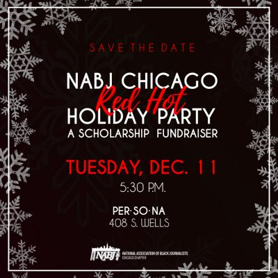 NABJCC 2018 Red Hot Holiday Party - Save the Date